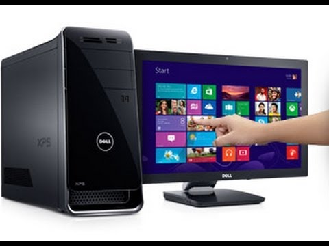 NEW Dell Inspiron 3000 Desktop PC Unboxing 2014 - YouTube