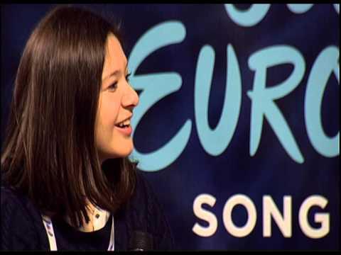 Junior Eurovision 2015: Press Conference of Albania