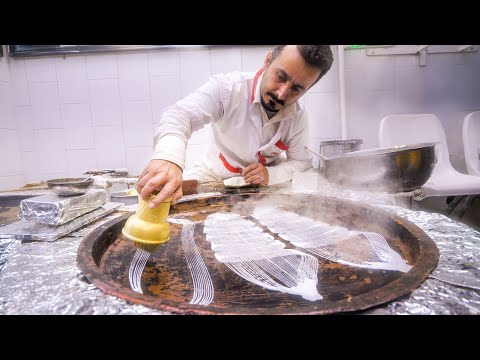Street Food in Iran!! UNSEEN IRANIAN FOOD + Market Tour in Rasht, Iran!