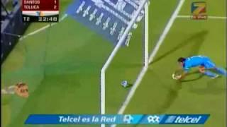 Bicentenario Final Ida Santos Vs Toluca 2o gol Toluca 20 mayo 2010