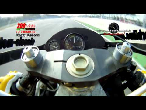 KENNY ROBERTS ONBOARD CAMERA: by ONBOARDCAMERA.IT