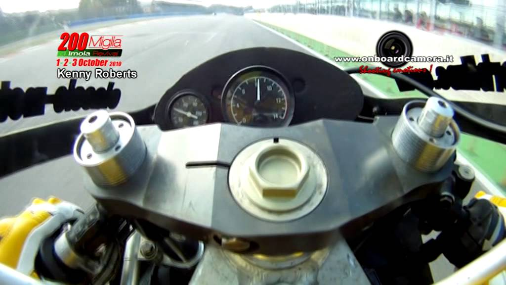 KENNY ROBERTS ONBOARD CAMERA: by ONBOARDCAMERA.IT | FunnyCat.TV