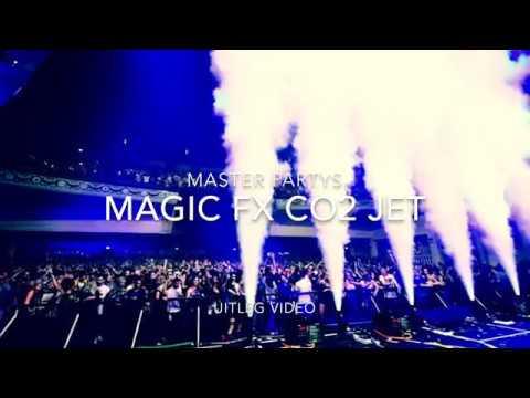 Magic FX CO2 Jet (CO2 kanon set) huren uitleg video