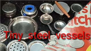 Unboxing tiny steel vessels|| small small vessels for playing