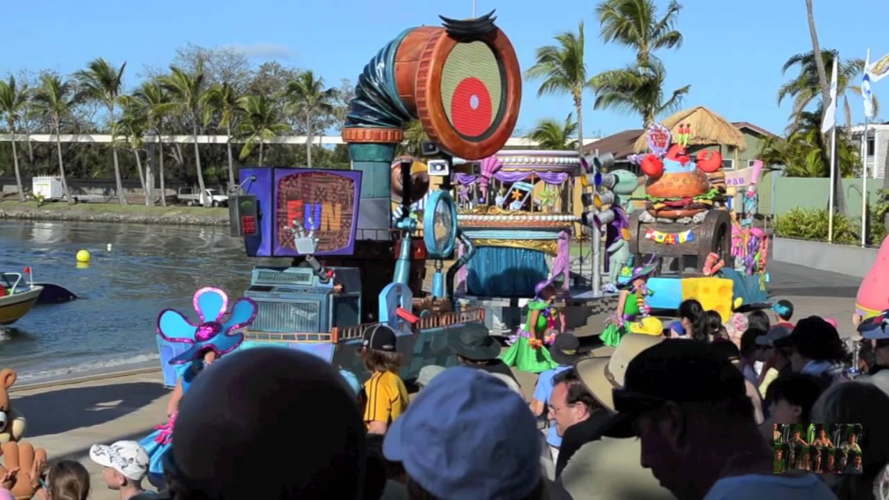 Spongebob Paradepants Tacular Sea World Australia Part 2