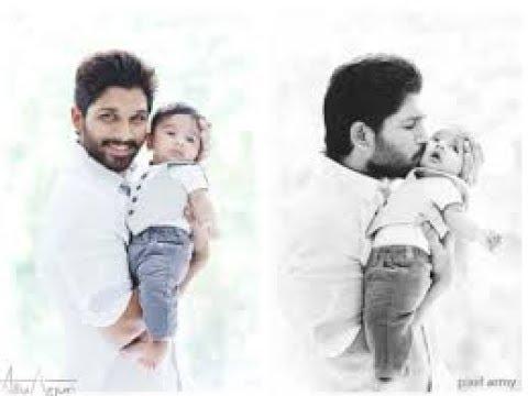 Allu  arjun 'DJ' with his son Allu ayun/Nannako Prematho Cover Song Kannada