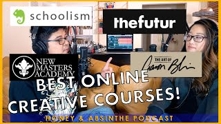 Best ONLINE COURSES to Upgrade Your Art SKILLS and MAKE MONEY! : HONEY & ABSINTHE PODCAST CLIP