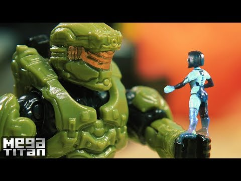 Mega Construx Halo Welcome to Alluvion Stop Motion Animation Full Movie