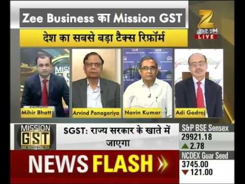 "Finance Minister Arun Jaitley launches ""Mission GST""by Zee Business"