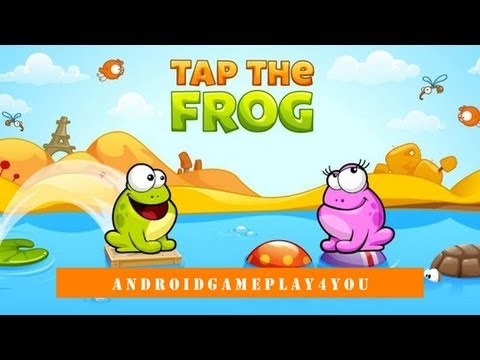 Tap the Frog Android Game Gameplay [Game For Kids]