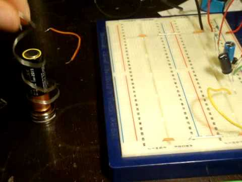 Electronics 22 : How to Make a Homopolar Motor