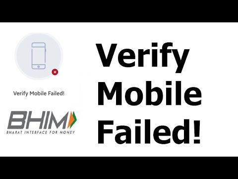 BHIM App-Solution for SMS sending , Verify Mobile, Device Binding Failed! (Read description)