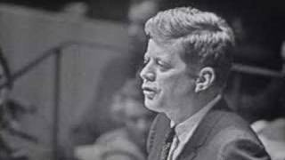 "JFK -- ""we will never fear to negotiate"""