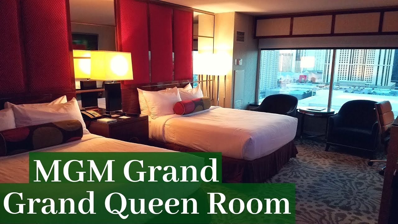 Mgm Grand Las Vegas Grand Queen Room Youtube