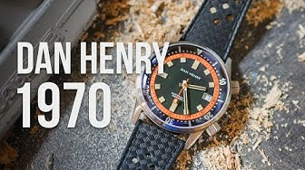 DAN HENRY 1970, la montre vintage automatique élégante et sportive !
