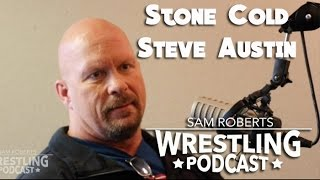 Stone Cold Steve Austin - Royal Rumble Problems, AJ Styles, etc - Sam Roberts