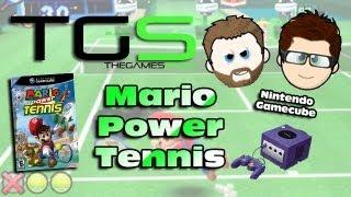 Let's Play Mario Power Tennis on Nintendo Gamecube - Mark vs Jamie - Battle 3