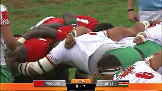 RUGBY AFRICA GOLD CUP 2018 - Morocco vs. Kenya