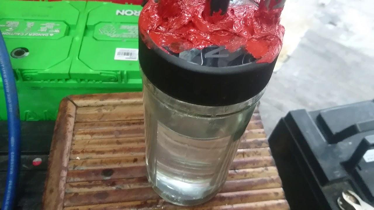 HHO 隔水加熱反應(2)