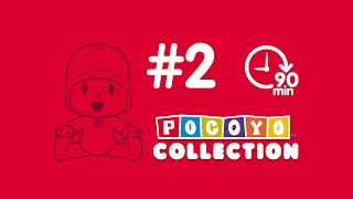 Pocoyo - Cartoons in English for kids (more than one hour) - PACK 2