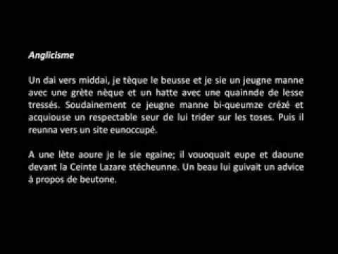 Raymond Queneau Exercices De Style Audio Textes Youtube