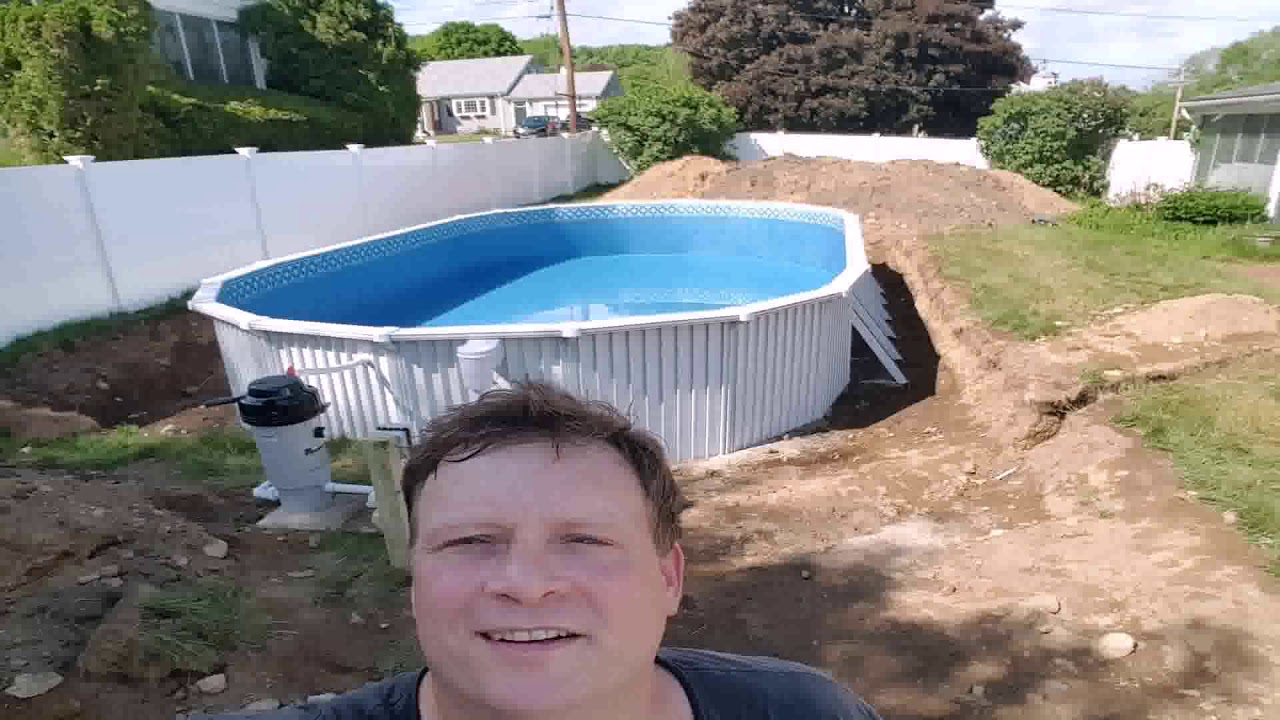 Used Above Ground Pools For Sale Near Me Youtube