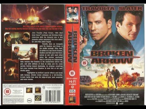 Original VHS Opening & Closing: Broken Arrow (1996 UK Rental Tape)