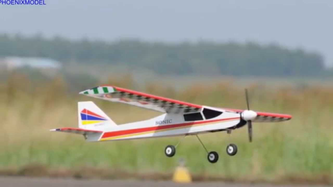 Phoenix Model Sonic 25 High Wing ARF