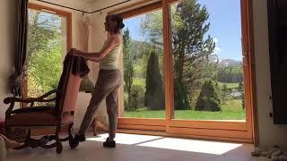 Danse classique exercice face à la barre
