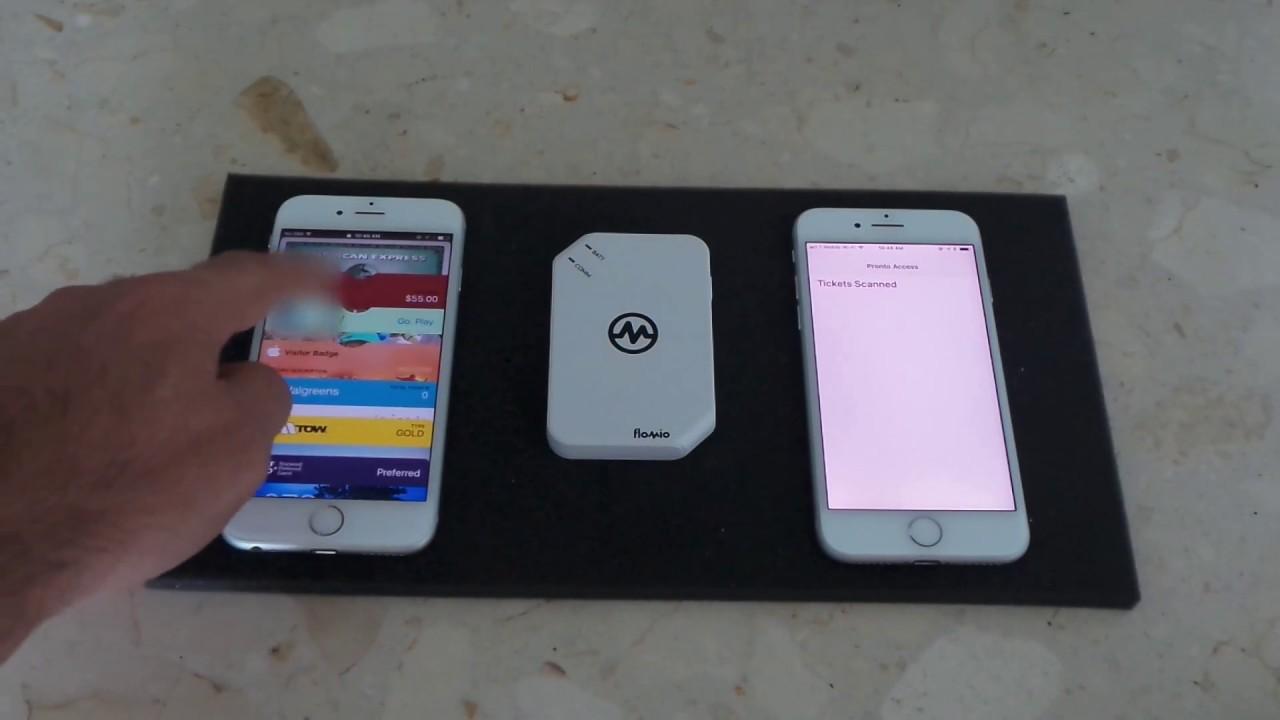 iPhone Wallet based door entry system - Flomio