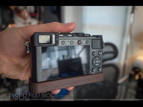 Panasonic LX100 J.B. Camera Pro Wood Grip - DSLR FILM NOOB