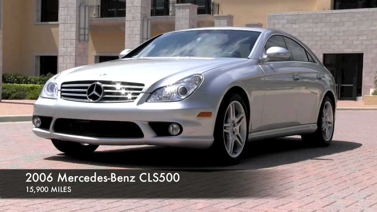 2006 mercedes benz cls500 amg silver gulfstream motorcars. Black Bedroom Furniture Sets. Home Design Ideas