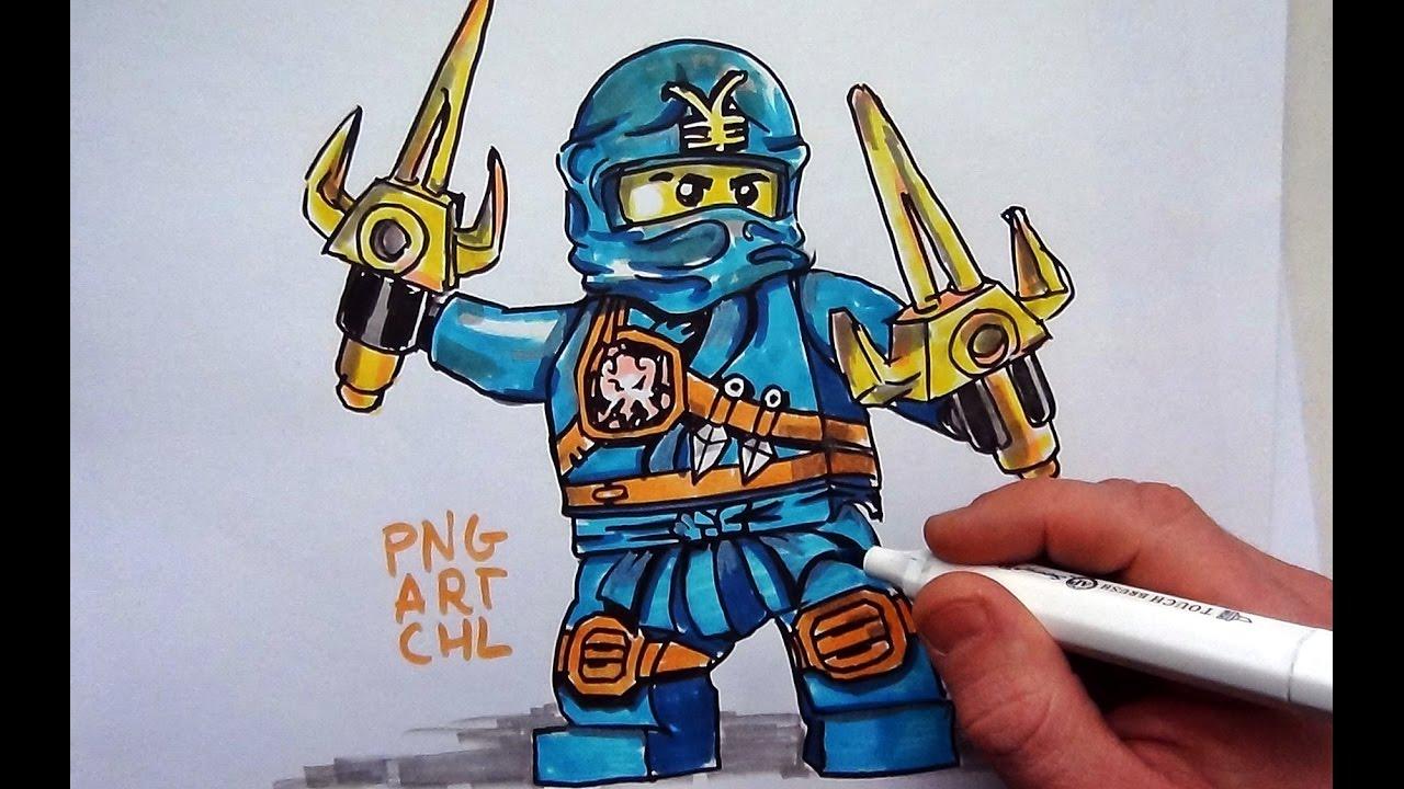 How to Draw #Jay# LEGO Ninjago - YouTube