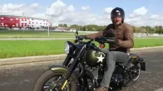 Два колеса. Harley-Davidson Slim S. Вып.76