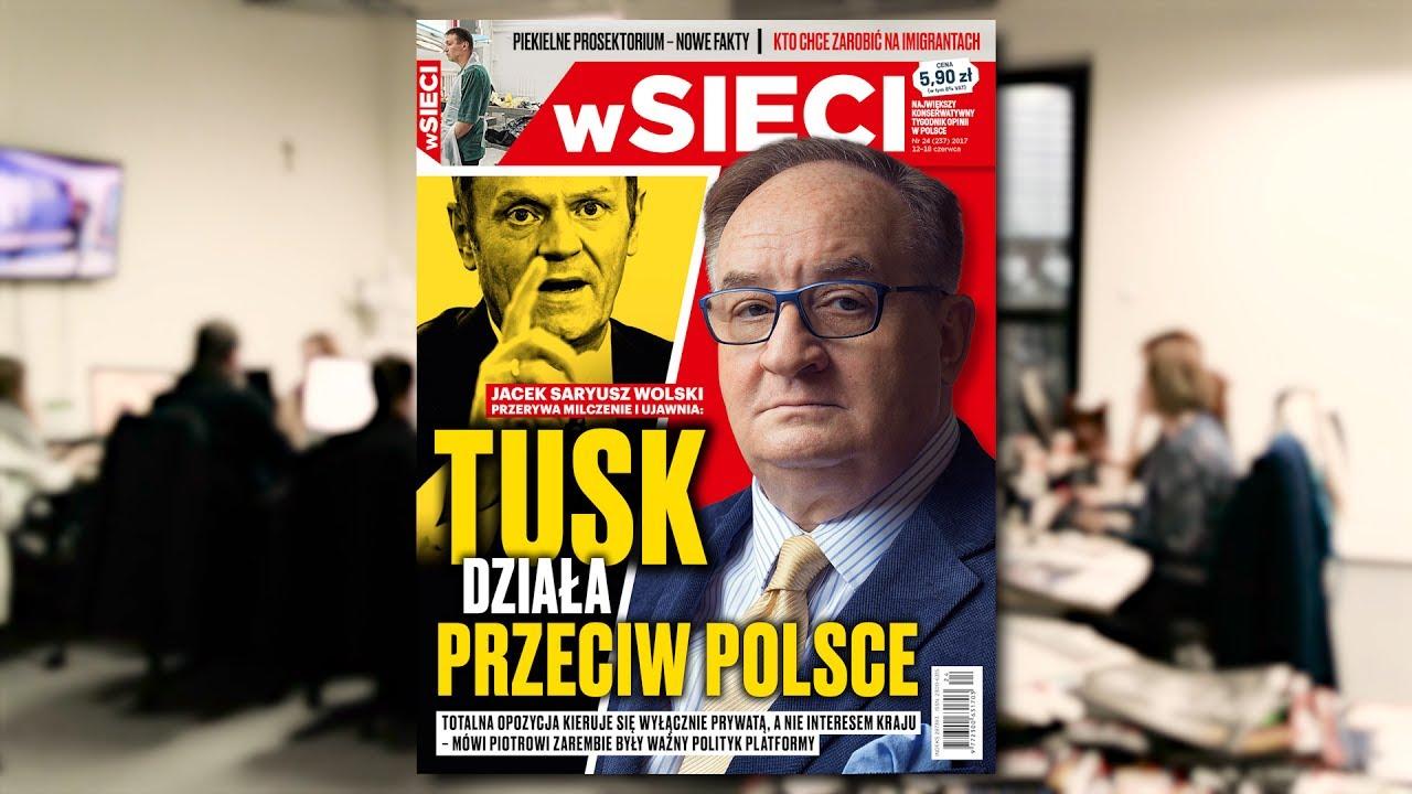 """Jacek Saryusz-Wolski przerywa milczenie na łamach """"wSieci"""""""