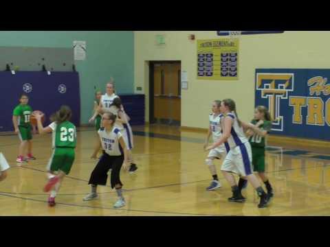 Bremen at Triton - 5th Grade Girls Basketball A-game 🏀 2-15-2017