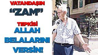 ÇAY, ŞEKER VE ELEKTRİK ZAMMINI VATANDAŞA SORDUK  - ÖYLE ŞEYLER SÖYLEDİLER Kİ!