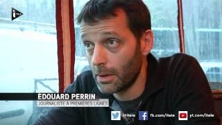 Premier sur les lieux, le journaliste Edouard Perrin témoigne