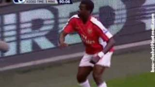 Henry & Adebayor & Eboue Dancing