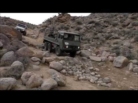Pinzgauer 712, Mengel Pass, Death Valley, CA