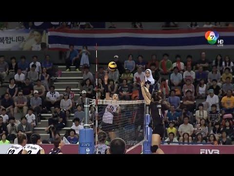 วอลเลย์บอลไทยกับเกาหลีใต้ 2014 (รีรัน)