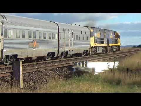 Australia's Indian Pacific tourist train