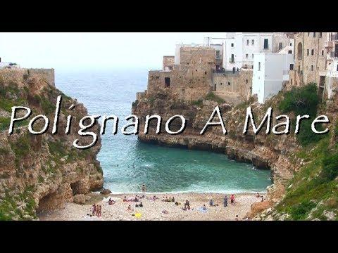 Polignano A Mare, City of Puglia (HD Video)