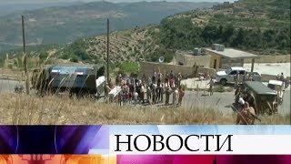 Около тонны продовольствия доставили российские военные вотдаленную сирийскую деревню вЛатакии.