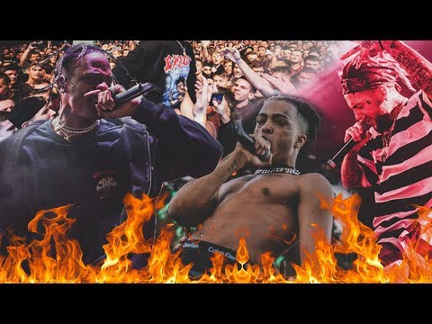 THE MOST LIT  SHOWS & CONCERTS COMPILATION Ft Travis Scott, Lil Uzi Vert, XXXTentacion