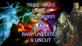 Tribe Wars Game 6 EDH/Commander Gameplay Spirits VS Soldiers RAW/UNCUT
