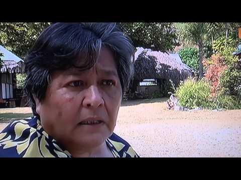 Randy & Barbara Tahitian Television Interview  Moorea Fare Miti