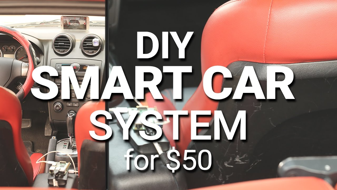 DIY] Turn your car into a smart car with this simple project! - YouTube