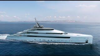 Turquoise superyacht 80m