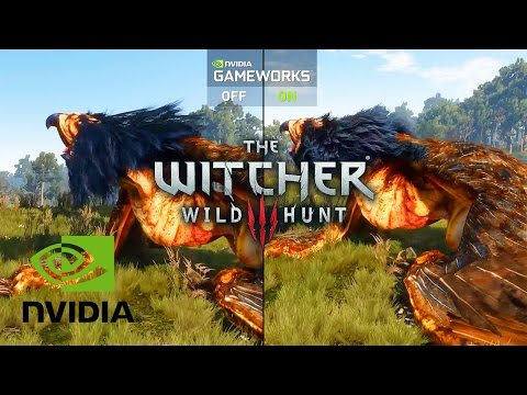 The Witcher 3׃ Wild Hunt - NVIDIA GameWorks